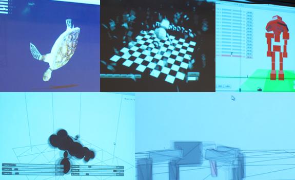 図解:1時間で分かるワンテンの脳みそ 第二部 モックデモ紹介 画面