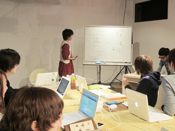 Flash/ActionScript入門講座「ほんきでクスール」第1期 企画発表風景