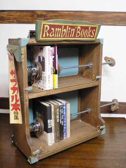レトロな本棚