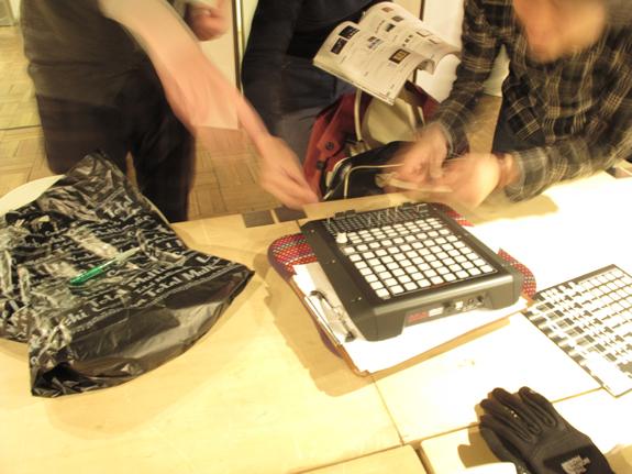 インスタ部02 VJ用にMIDI機器